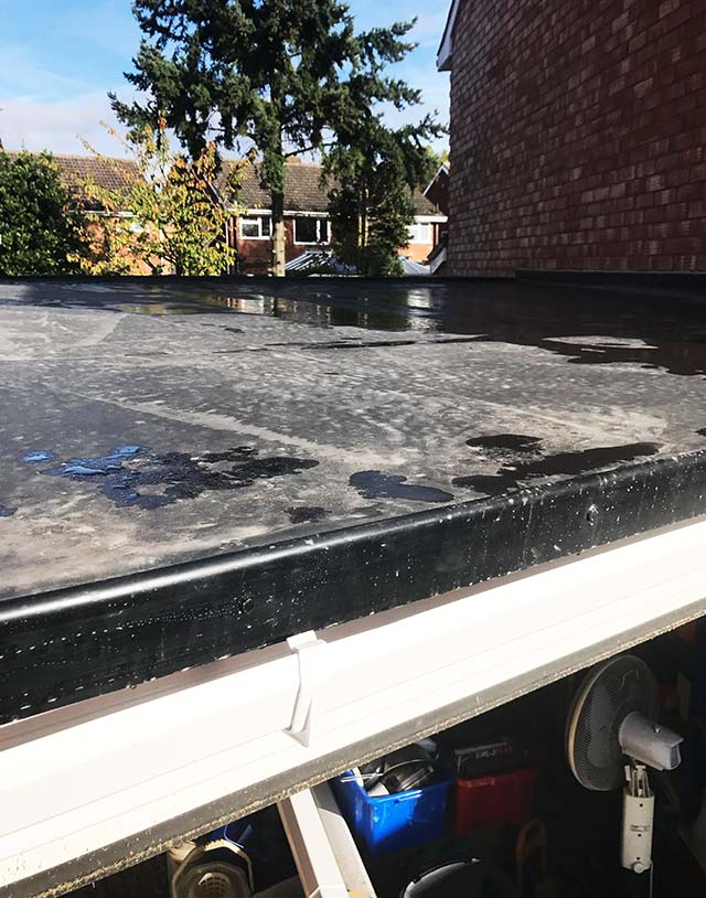 West Bromwich Rubber Roofing Install